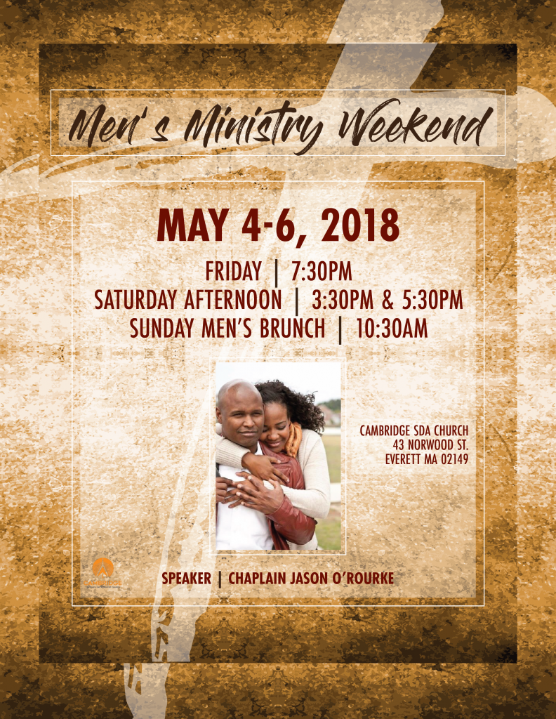 Men's Ministry Weekend: May 4-6th! Be Empowered!