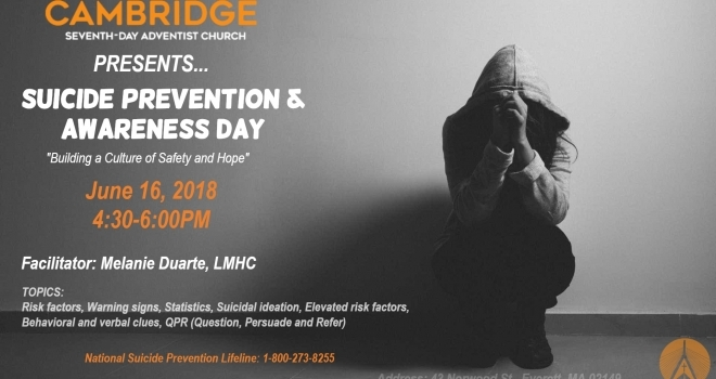 Suicide Prevention and Awareness Day