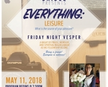 Bridge: Friday Night Vespers