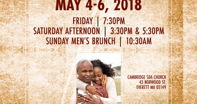 Men's Ministry Weekend: May 4-6th